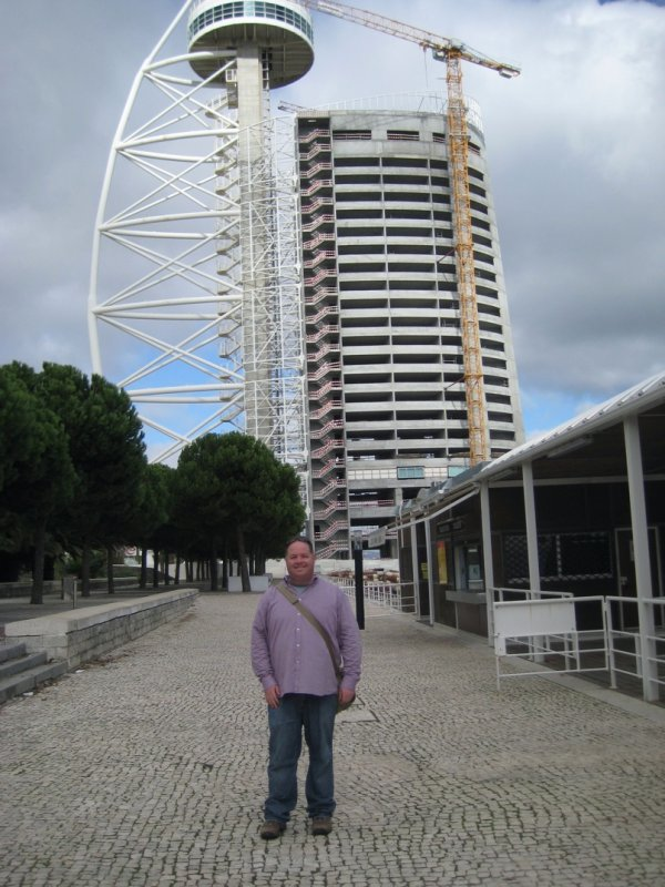 Greg at Vasco Da Gama Tower