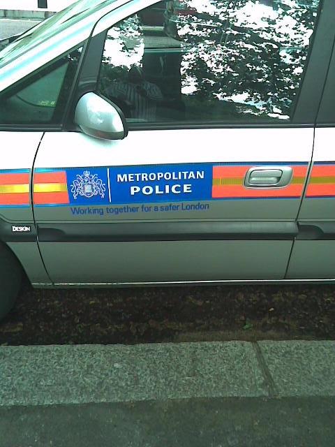 London Metro Police Car