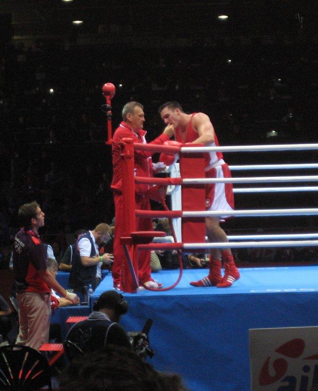 Simon Kean Canadian Boxer