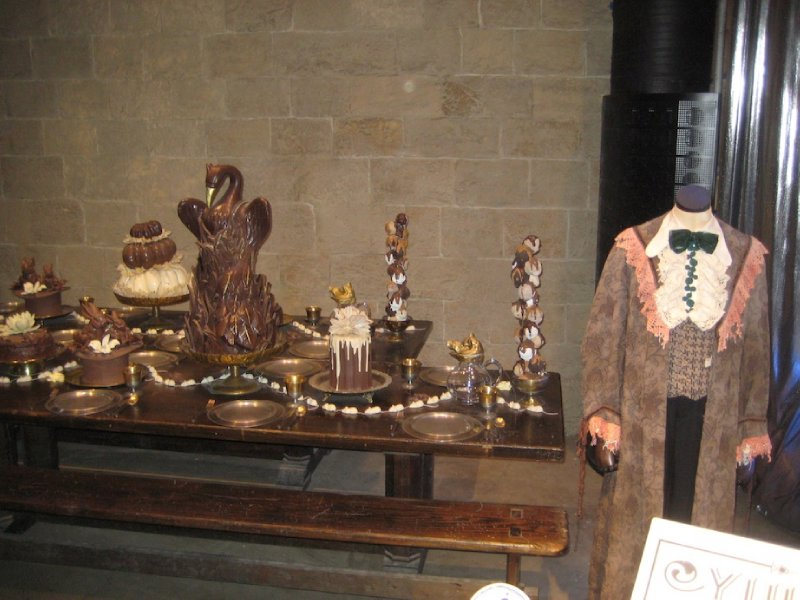 Yule Ball Chocolate Fantasy