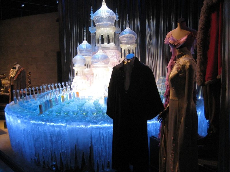 Yule Ball Ice scuplture