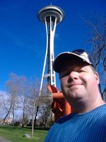 Greg Wesson at the Space Needle