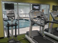 Fairfield Inn & Suites Toronto Mississauga Gym and Pool