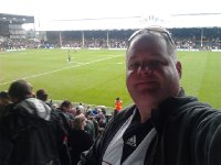 me at Craven Cottage - Fulham FC vs Stoke City