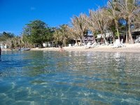 Half Moon Bay beach, West End, Roatan