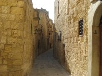 Shade and Sun, Mdina Streets