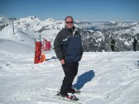 Greg About to Ski