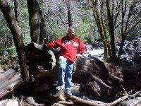 Greg at a Shady River
