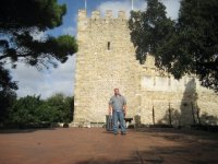 Greg at Castelo de Sao Jorge