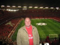 Me at Emirates, jersey somewhat obsecured