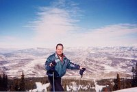 Me skiing in Aspen, Colorado