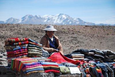 Selling Peruivan goods