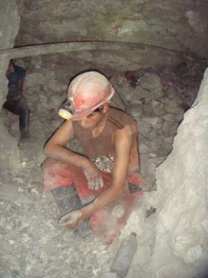 14 year old mine worker