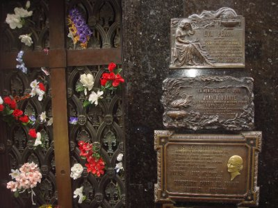 Evita&#39;s grave