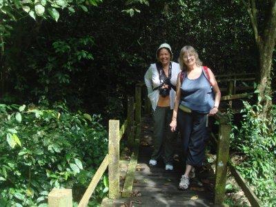mum gilly walkway