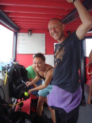 me gaymer on boat