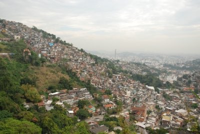 The favelas of Rio