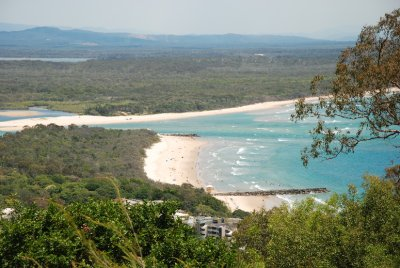 View to Noosa Heads Beach