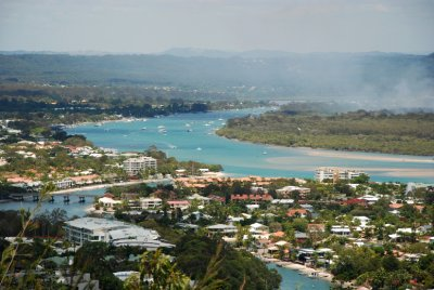 Overlooking Noosa Heads