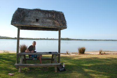 Ross breakfast by the lake