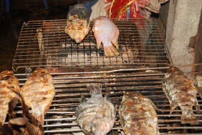fish bbq