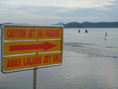 jetski sign