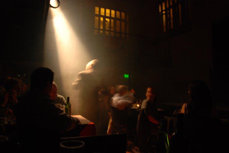 tango man singing