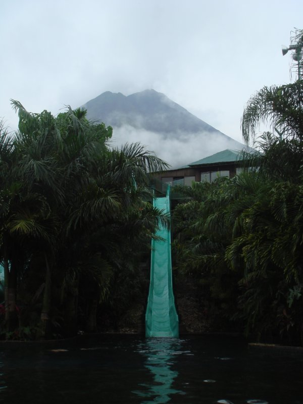 Volcano at La Fortuna