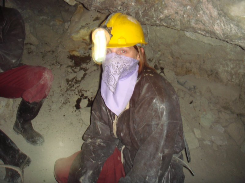 Lori in the Mine
