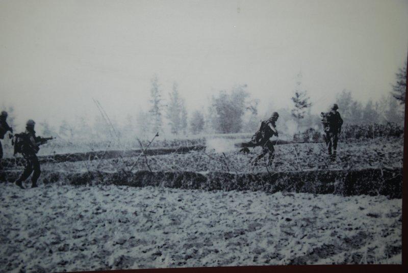 soldiers in field