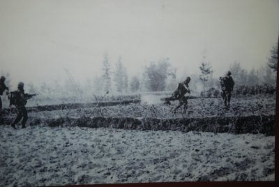 soldiers in field