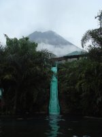 Volcano at La Fortuna