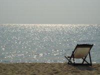 deckchair beach