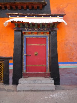 Door at Jokhang