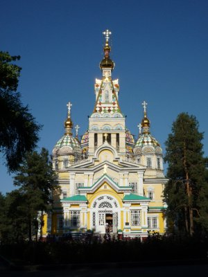 Wooden church, Almaty