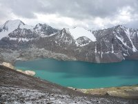 Beautiful Ala-Kol Lake