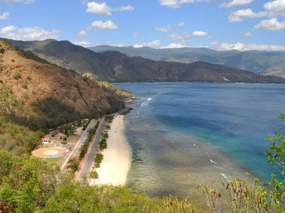 One Dollar Beach in Timor Leste (East Timor)