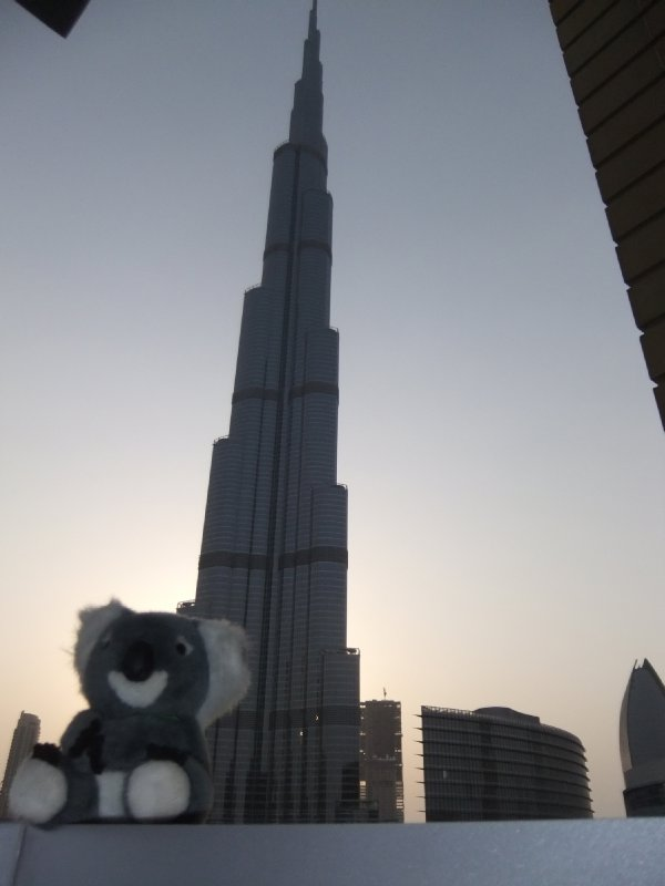 Fluffy Burj Kalifa