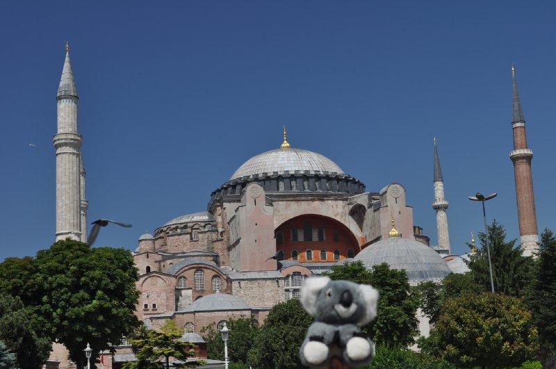 Hagia Sophia mit Fluffy