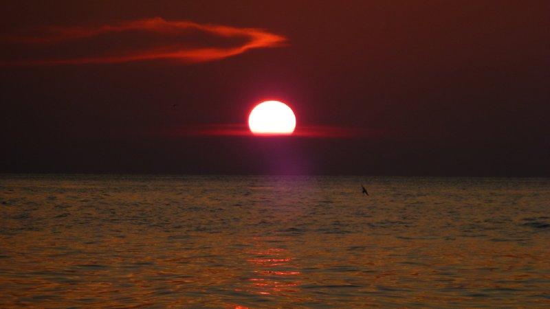 Togean Island sunset