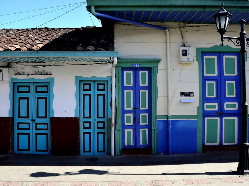 colorful Salento houses