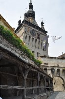 old clock tower sighisoara, romania