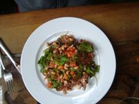 Baby Octupus Salad