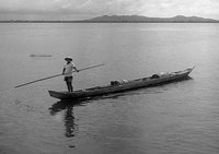 Morro fisherman, Philippines