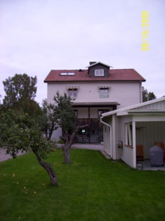 Back View of the House