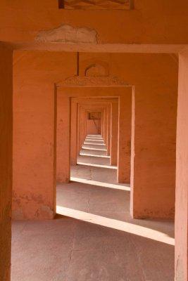Taj orange corridor