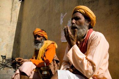 Jaipur sadhus