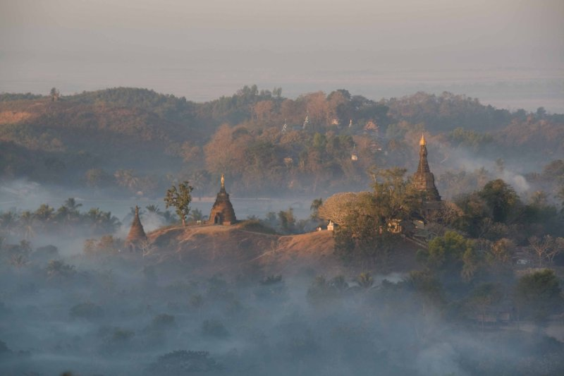 Mrauk U sunrise 2