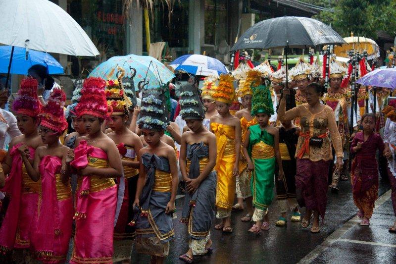 Ubud procession