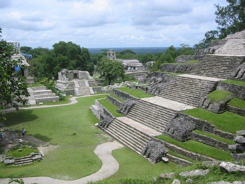 maya pyramiidid palenques